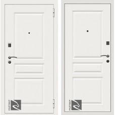 Входная дверь  Кондор Райтвер Х4 Белый матовый