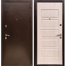 Входная дверь  Зетта Оптима 2 Дуб выбеленный