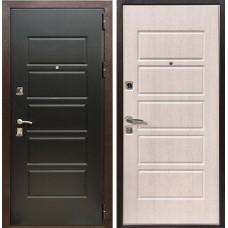 Входная дверь  Зетта Оптима 3 Дуб белёный