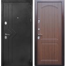 Входная дверь  Зетта NEO Viktorian Орех тиснёный
