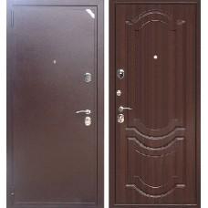 Входная дверь  Зетта Евро 2 Б2 Грация Орех тёмный