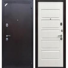 Входная дверь  Зетта Евро 2 Б2 Рубикон Венге светлый