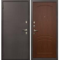 Входная дверь  Лекс 1А медный антик №11 Берёза морёная