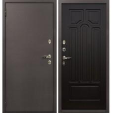 Входная дверь  Лекс 1А медный антик №32 Венге
