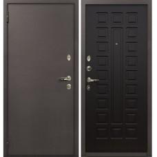 Входная дверь  Лекс 1А медный антик №21 Венге