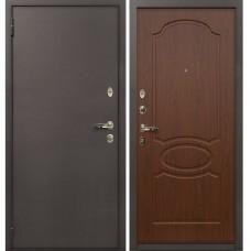 Входная дверь  Лекс 1А медный антик №12 Берёза морёная