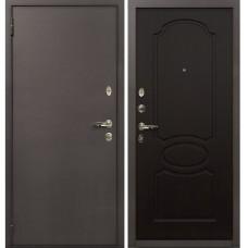 Входная дверь  Лекс 1А медный антик №13 Венге