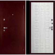 Входная дверь  Дива С-504 Антик медный Дуб белёный
