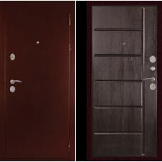 Входная дверь  Дива С-503 Антик медь Венге тиснёный