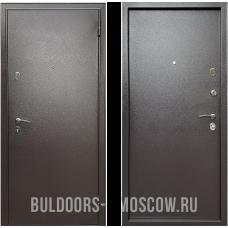 Входная дверь  Бульдорс Econom Steel Букле шоколад м м