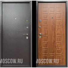 Входная дверь  Бульдорс Econom Букле шоколад Дуб золотой Е-110