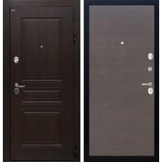 Входная дверь  Интекрон Брайтон (Тиковое дерево / ЭкоВенге)