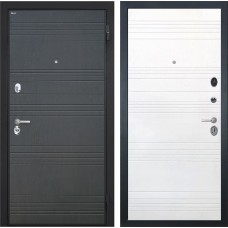Входная дверь  Интекрон Спарта ФЛ-316 (Венге / Ясень белый)