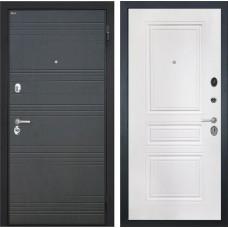 Входная дверь  Интекрон Спарта ФЛ-243 (Венге / Белая матовая)