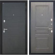 Входная дверь  Интекрон Спарта ФЛ-243 (Венге / Дуб вуд графит)