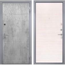 Входная дверь  Интекрон Спарта Грей (Бетон темный / Дуб сильвер)