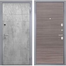Входная дверь  Интекрон Спарта Грей (Бетон темный / Дуб Тоскано)