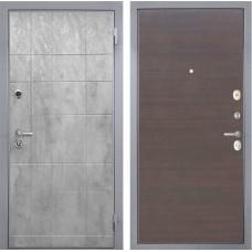 Входная дверь  Интекрон Спарта Грей (Бетон темный / ЭкоВенге)