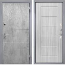 Входная дверь  Интекрон Спарта Грей ФЛ-39 (Бетон темный / Сандал белый)