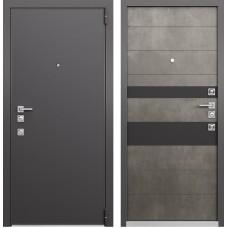 Входная дверь  Mastino Forte (Реалвуд графит MS-100 / Бетон тёмный MS-118)