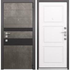 Входная дверь  Mastino Forte (Бетон темный MS-118 / Cинхропоры милк MS-104)