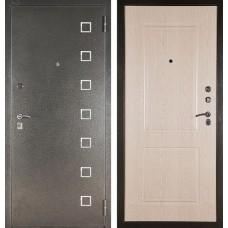 Входная дверь  Аргус ДА-15 Даллас (Серебро антик / Дуб беленый)
