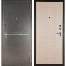 Входная дверь  Аргус ДА-15 Франк (Серебро антик / Дуб беленый)