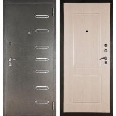 Входная дверь  Аргус ДА-15 Элис (Серебро антик / Дуб беленый)